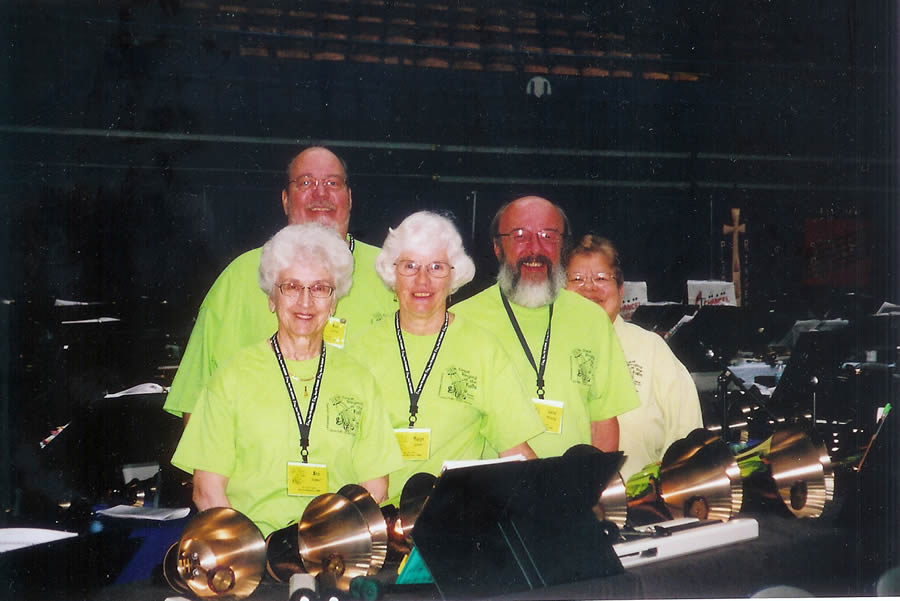 River Bend Bells represented at Area Vii Convention