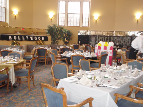 The main dining room at Old Main Village