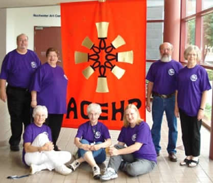 Ringers at Area VII Festival in Rochester, MN